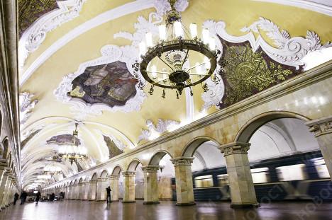 90-е годы Московского метрополитена